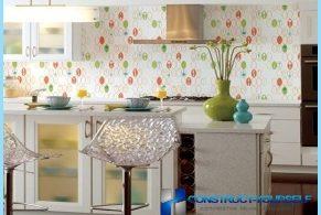 Opcje dla kuchni tapety ze zdjęciami