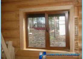 Jak zainstalować okno z tworzywa sztucznego w drewnianym domu sam