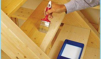 Jak malować drewnianej drabinie