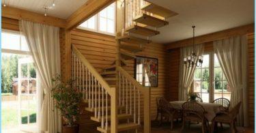 Jak zrobić spiralne schody na drugie piętro, poddasze