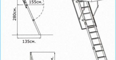 Instalacja strych schody z wideo