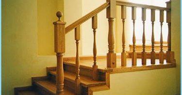 Szalunki betonowych schodach
