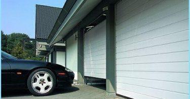 Segmentowe bramy garażowe wyciąg