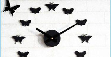 Jak motyle na ścianę z rękami