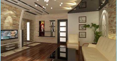 Konstrukcja sufitowa do salonu