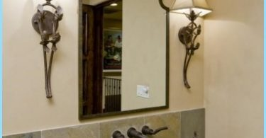 Projekt lustro w łazience