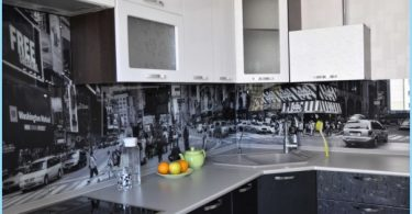Fartuch szklana dla kuchni ze zdjęciami