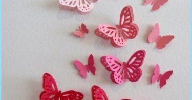 Dekoracyjne motyle do dekoracji ścian