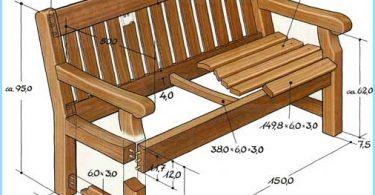 Zrób ławki ogrodowe z rękami