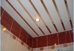 Jak zrobić sufit rack w łazience