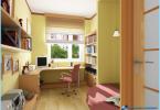 Nowoczesny design pokój studenta