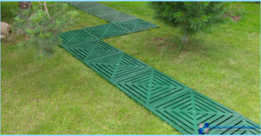 Ścieżki ogrodowe z tworzyw sztucznych