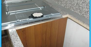 Jak zainstalować płytę kuchenną w blacie