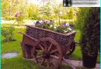 Ławki ogrodowe dać swoje ręce - 6 projektów na zdjęciach